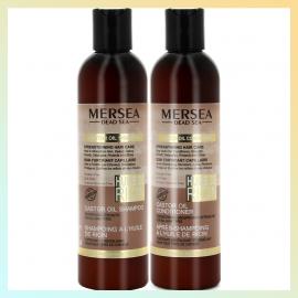 Duo shampoing & après-shampoing à l'huile de ricin