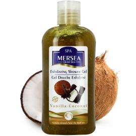 Gel douche exfoliant vanille-coco