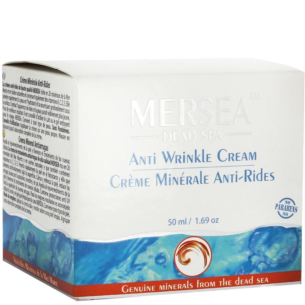 Crème minérale anti-rides