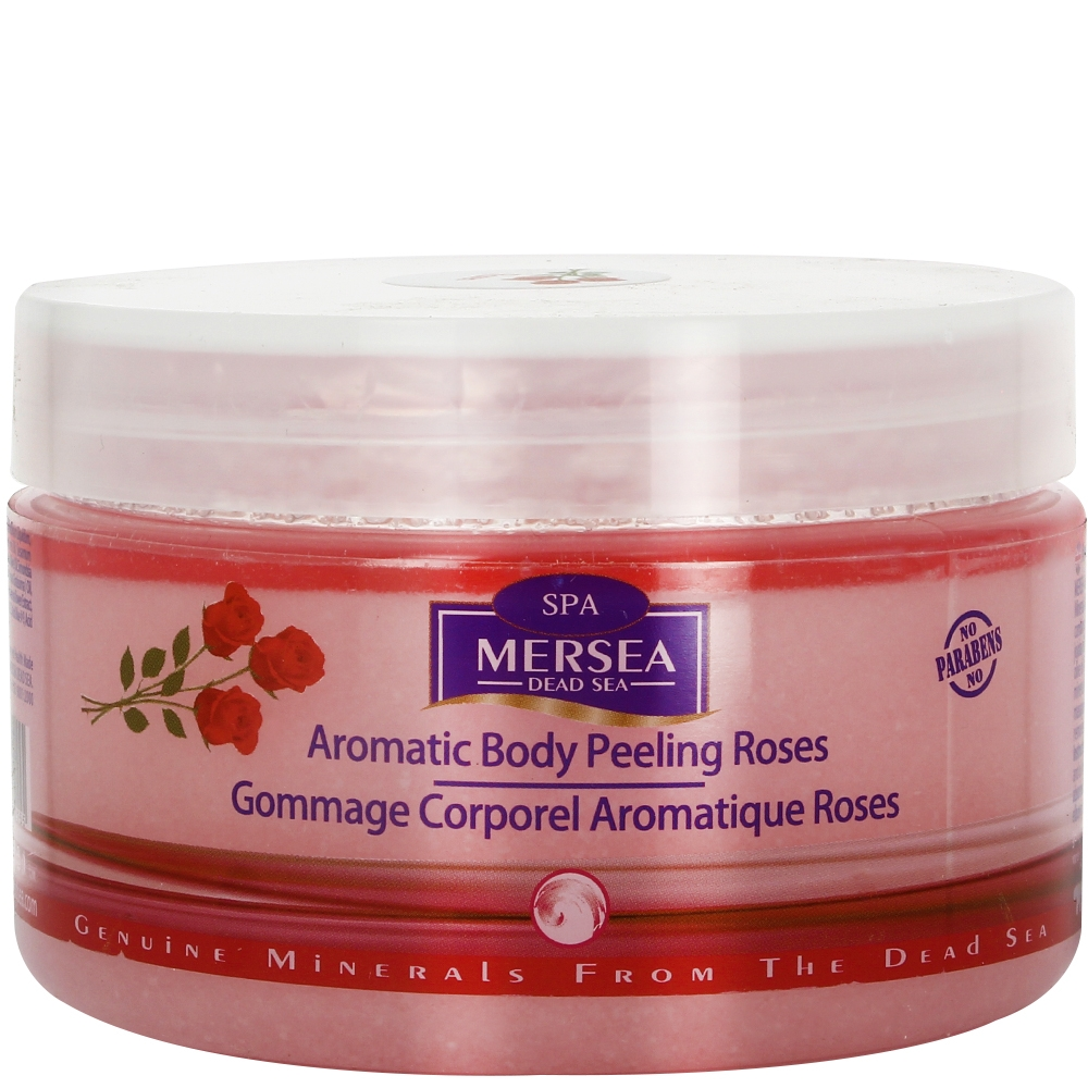 Gommage corporel - Rose