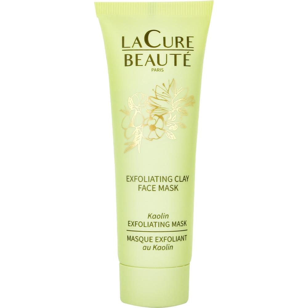 Masque exfoliant visage à l'argile verte