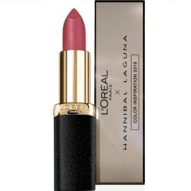 Rouge à lèvres Color matte Hannibal Laguna – 347 Haute rouge