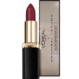 Rouge à lèvres Color matte Hannibal Laguna - 463 Plum defile L'Oréal
