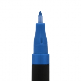 Feutre nail art - Bleu pointe fine
