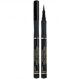 Feutre Liner Précision - Noir de la marque Golden rose. Feutre ouvert.