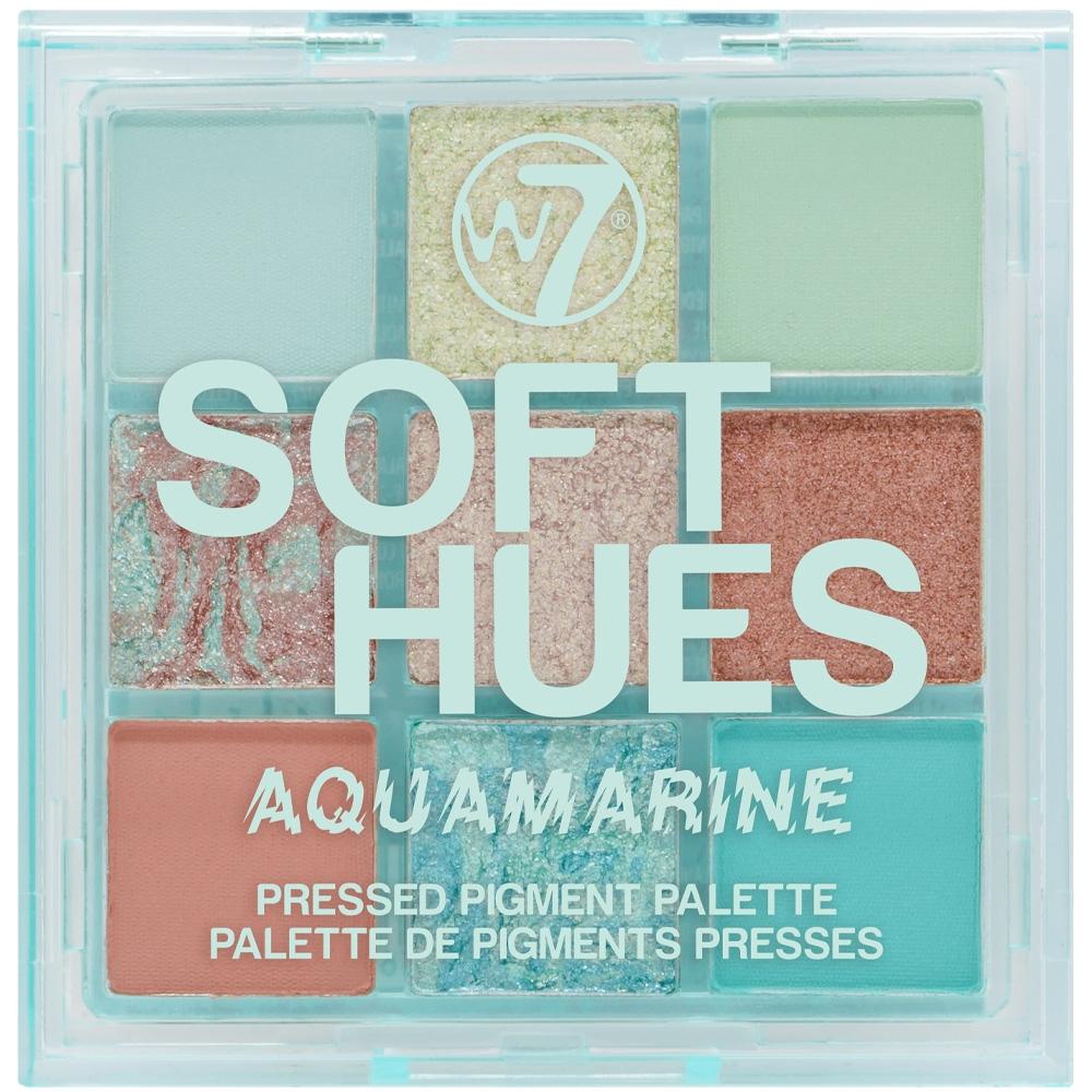 Palette Soft hues - Aquamarine w7