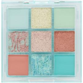 Palette Soft hues - Aquamarine w7 fards