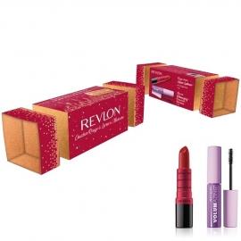 Cracker Rouge à lèvres et mascara - Rouge Revlon