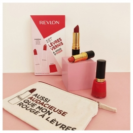 Coffret Trousse beauté collection Rouge glamour Revlon