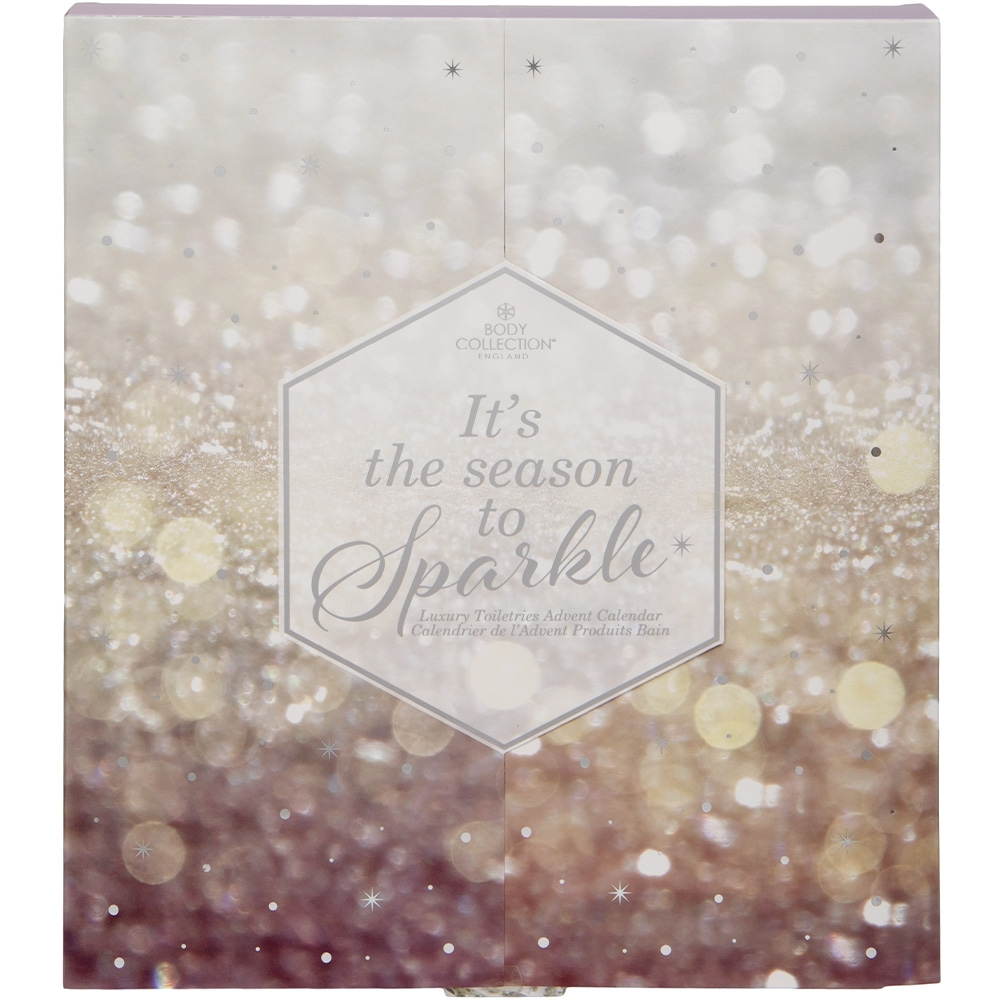 Calendrier de l'avent soins Body Collection it's the season to sparkle