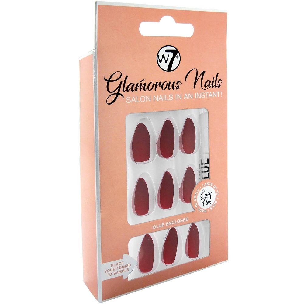 Faux-ongles Glamorous - Velvet rope w7 packaging