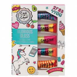 Coffret 5 gloss Chitchat