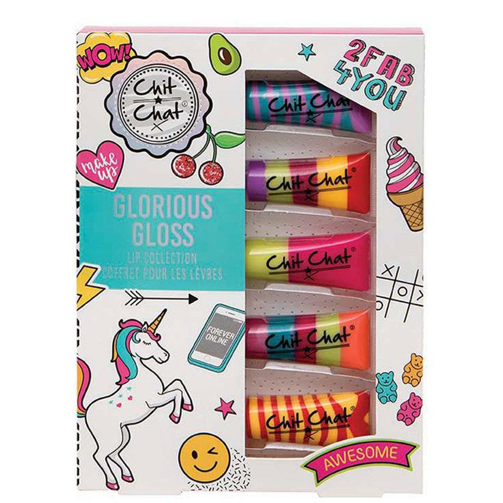 Coffret 5 gloss Chitchat