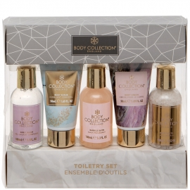 Coffret Soins pour le corps body collection packaging