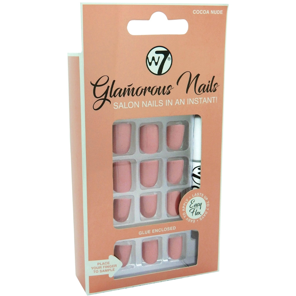 Faux-ongles Glamorous - Cocoa Nude w7