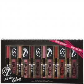 Coffret All the gloss w7