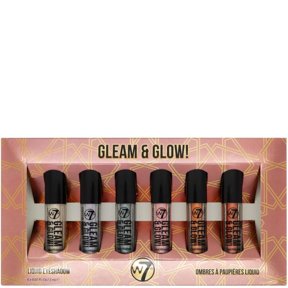 Coffret Gleam & Glow w7