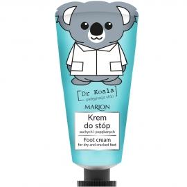 Crème adoucissante pour les pieds dr koala marion