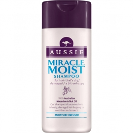 Mini shampoing Miracle Moist - 75 ml Aussie