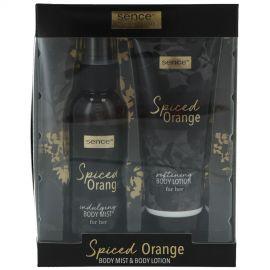 Coffret brume et lotion parfumées pour le corps – Orange épicée