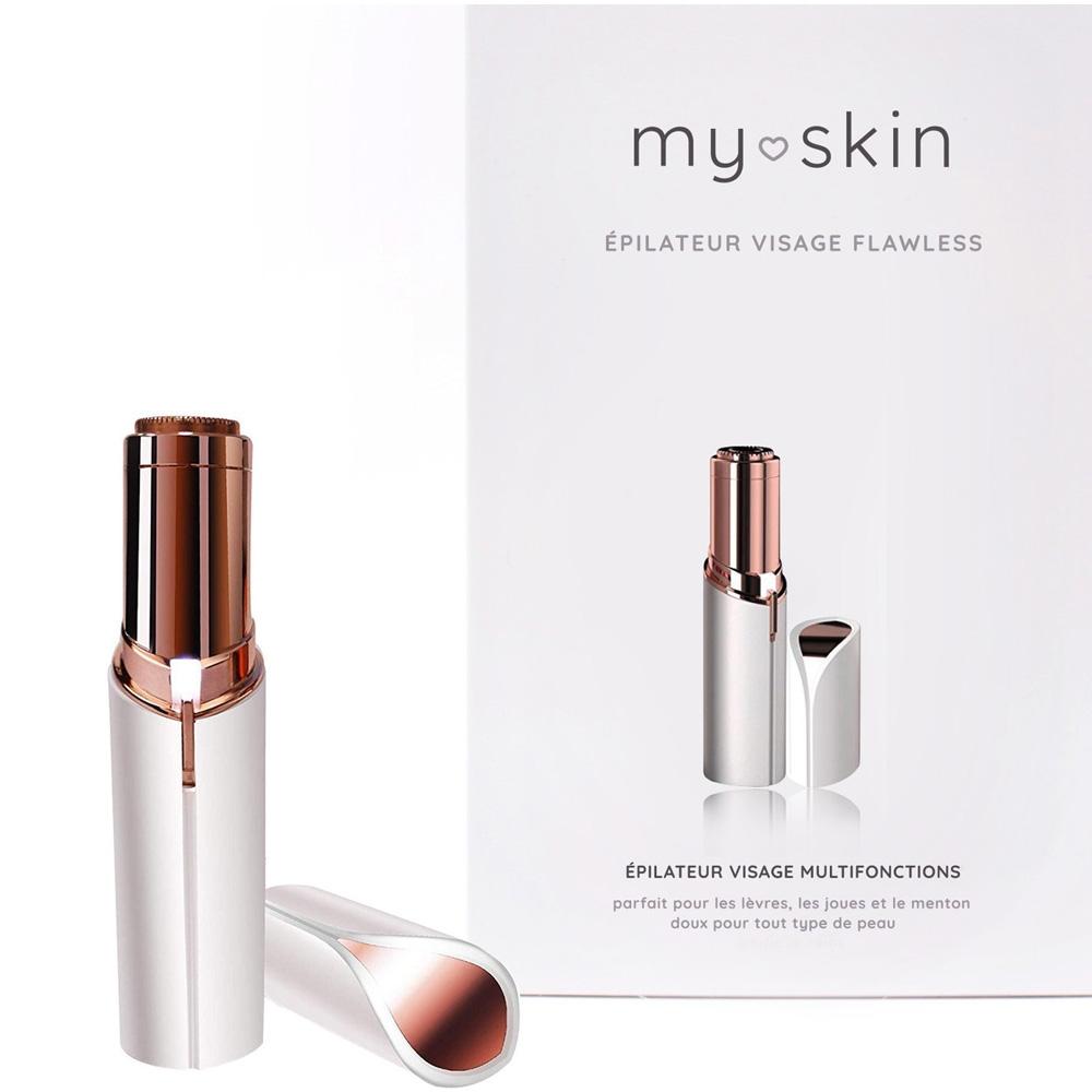 Epilateur visage Flawless my skin packaging