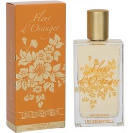 Eau de parfum Fleur d'oranger les essentiels packaging