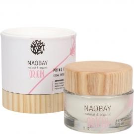Crème réparatrice anti-âge - Origin Naobay packaging et crème