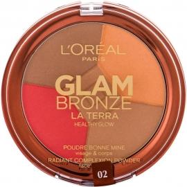 poudre glam bronze  medium fermée