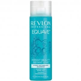 Flacon bleu de shampoing Equave