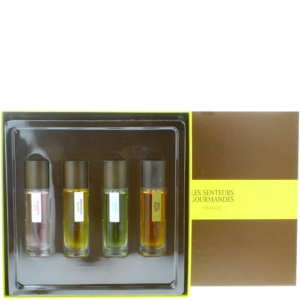Coffret Eaux de parfum senteurs gourmandes
