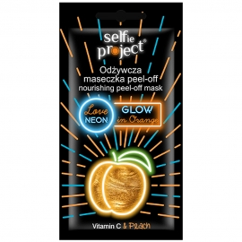 Masque peel-off néon - Glow in orange
