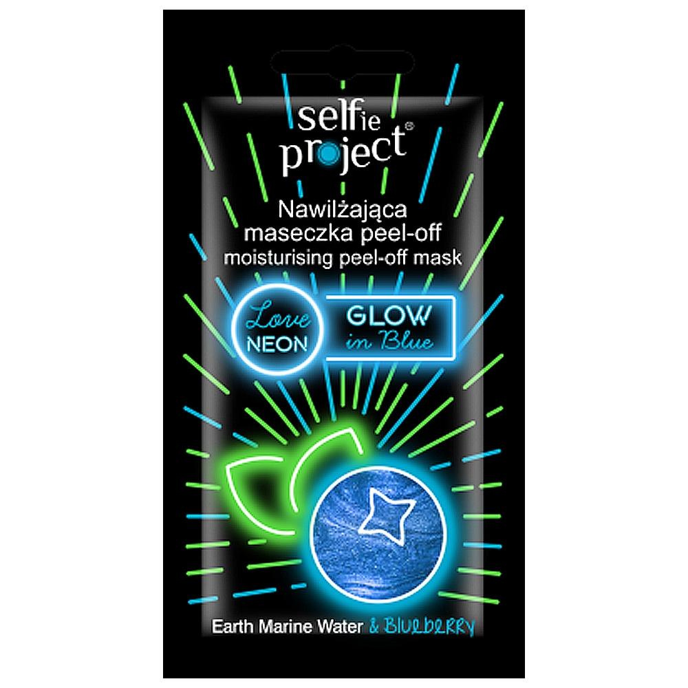 Masque peel-off néon - Glow in blue