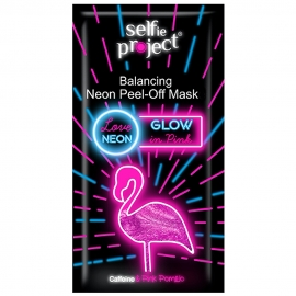 Masque peel-off néon - Glow in pink