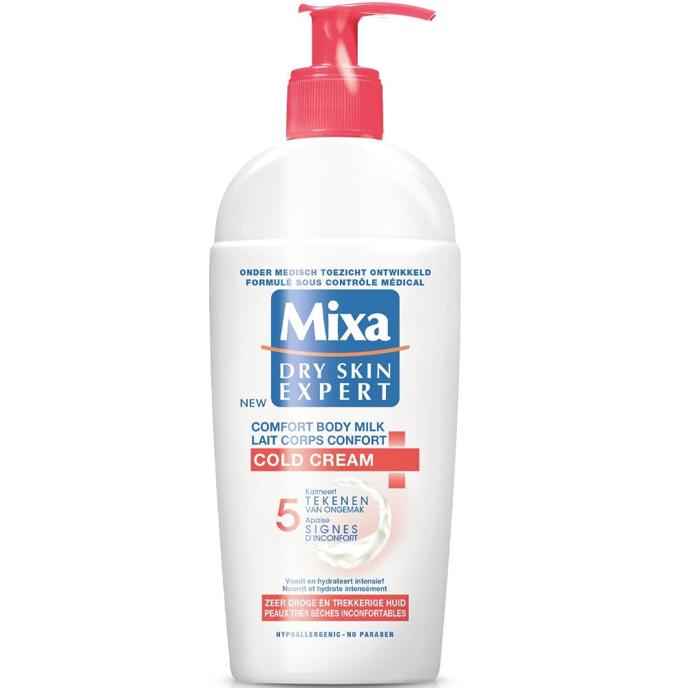 Lait corps confort Cold cream Mixa