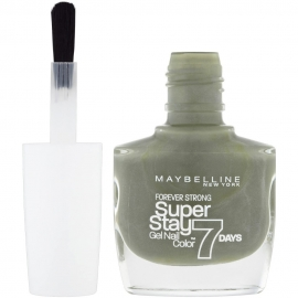 Vernis à ongles Superstay 7 jours - 620 Moss forever Maybelline pinceau