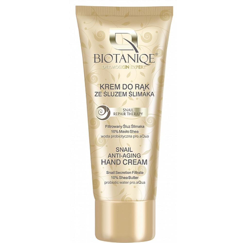 Crème mains anti-âge à la bave d'escargot Biotaniqe