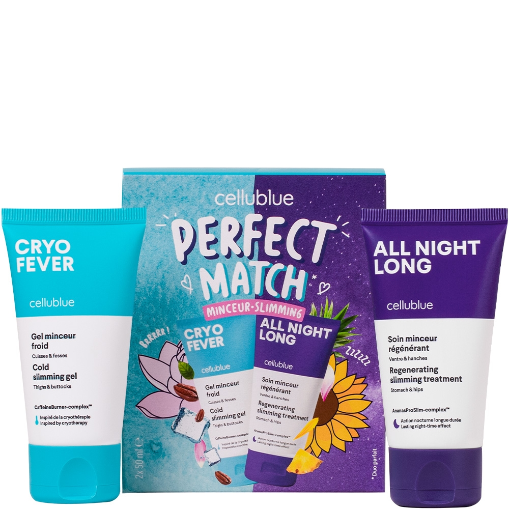 Kit perfect match Minceur Cellublue 2 produits