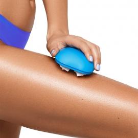 Ma routine anti-cellulite Cellublue masseur peau d'orange