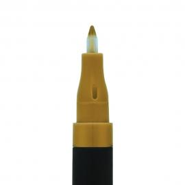 Feutre nail art - Doré smoss pointe