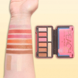 Palette Peach on-the-go bys swatch