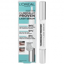 Sérum pour cils Clinically proven lash L'oreal packagign carton
