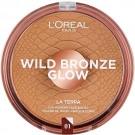 poudre bronzante wild bronze glow la terra 1