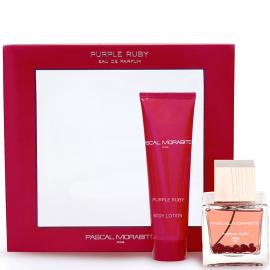 Coffret Purple Ruby - Eau de parfum & crème corporelle pascal morabito