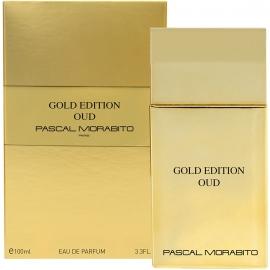 Eau de parfum Gold edition Oud pascal morabito packaging