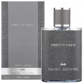 Eau de parfum homme Private grey Saint-Hilaire packaging