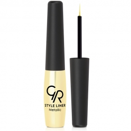 Eyeliner Style metallic - 02 Or fusion Golden rose