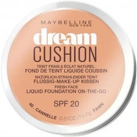 Fond de teint liquide Dream cushion - 40 Cannelle Maybelline produit