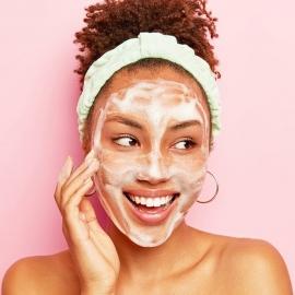 Masque bubble oxygen boost Sence beauty Masque appliqué sur la peau