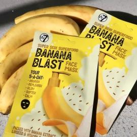 Masque superfood nourrissant - Banana blast banane w7