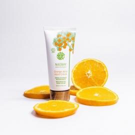 Crème mains régénérante - Orange Juice naobay visuel d'ambiance